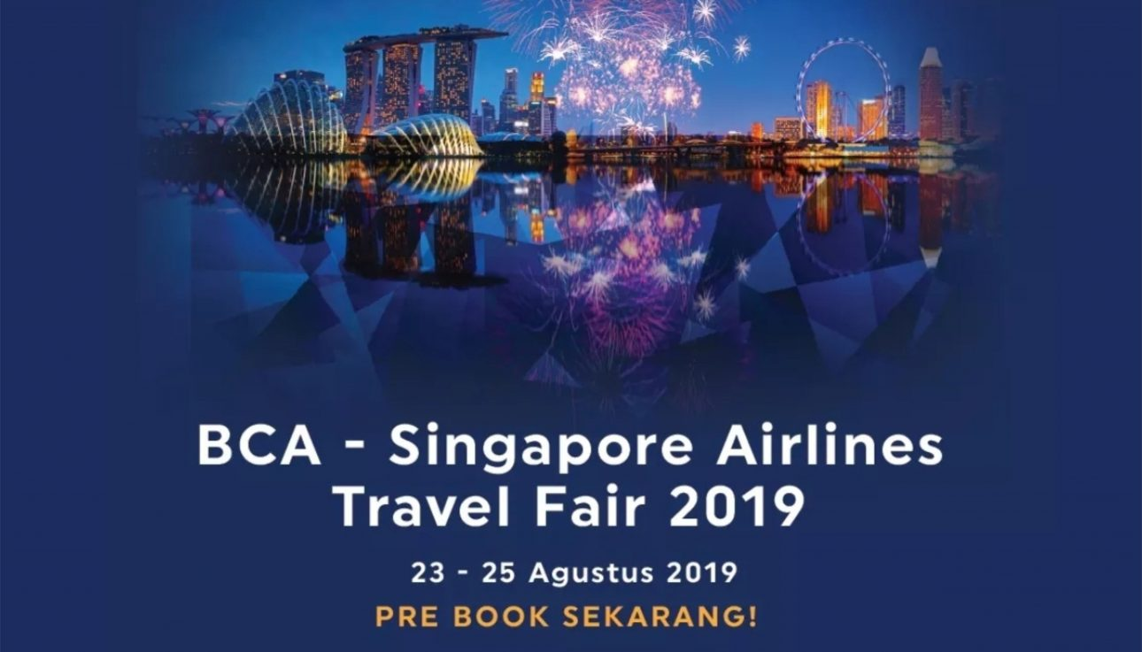 event BCA - Singapore Airlines Travel Fair 2019