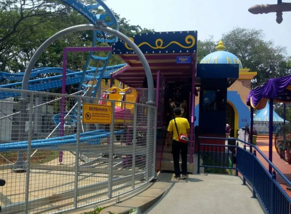 Spinning Coaster di Ocean Dream Samudra Ancol